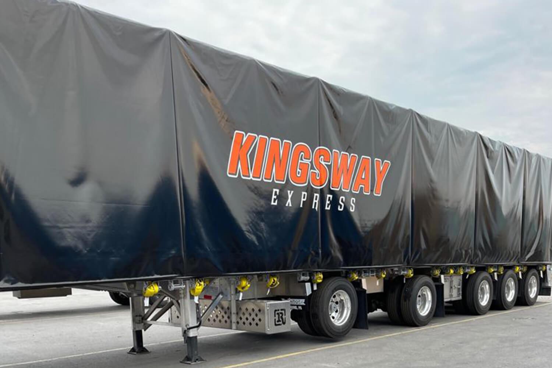 Multiaxle trailer